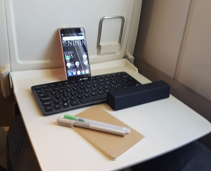 Basic mobile office setup
