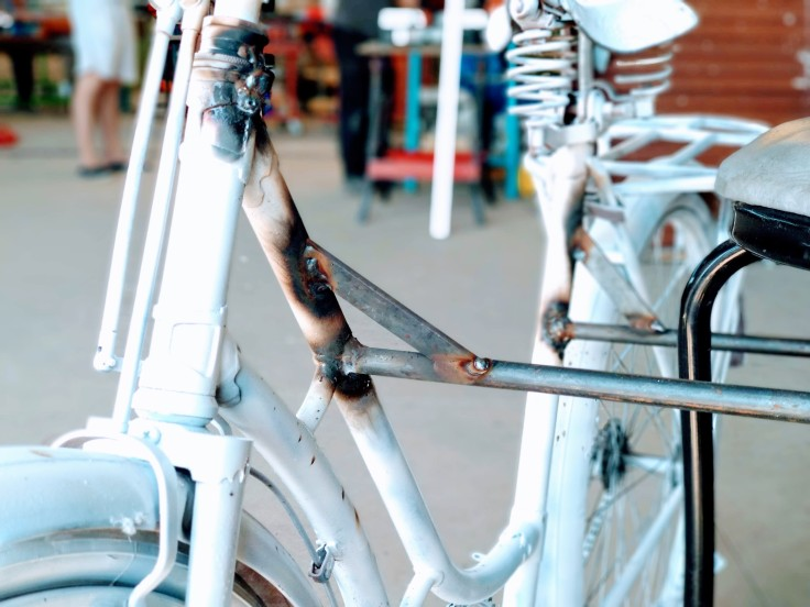 Bike sculpture 2
